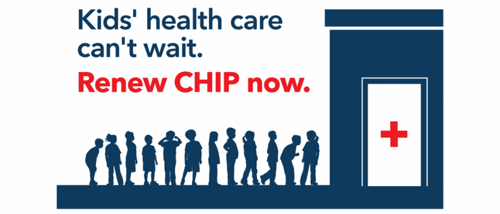 Kids' health care can't wait. Renew CHIP now