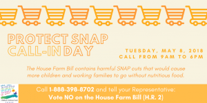 Protect SNAP national call-in day