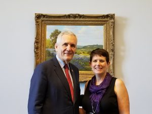 Rep. Lloyd Doggett and Lisa Goodgame