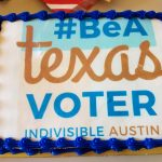 Be a Texas Voter cake