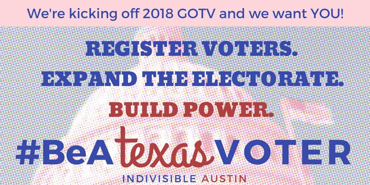 GOTV volunteer announcement