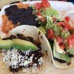 Taco plate from Taco Deli