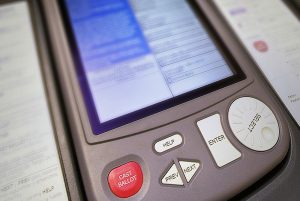 Hart eSlate voting machines