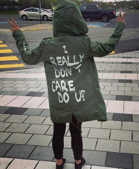 Don't care jacket