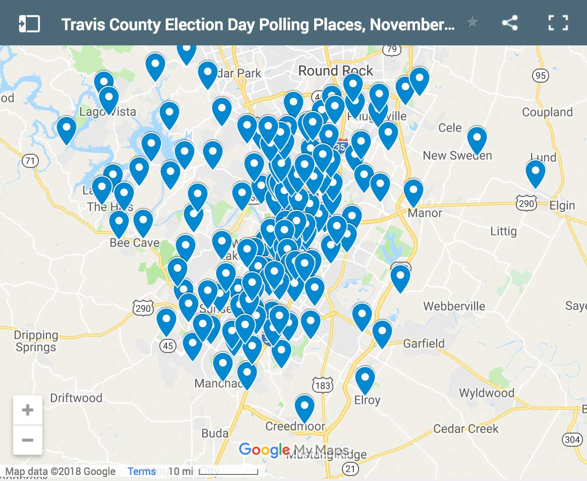 Travis County Polling Locations