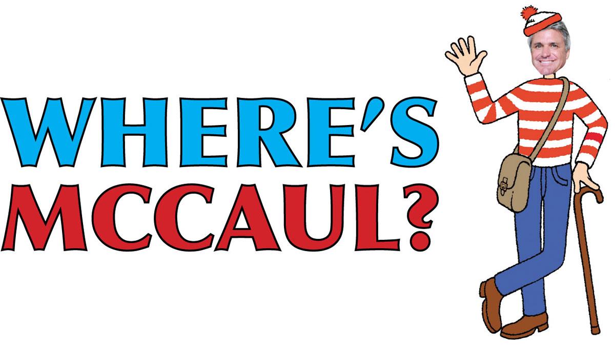 Where's McCaul?