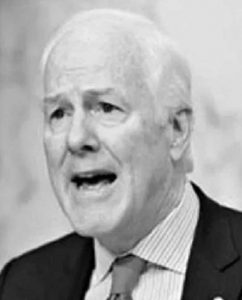 "Tell John Cornyn: Delaying elections is not a ""joke"" 