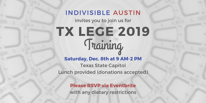 TXLEGE 2019 Training