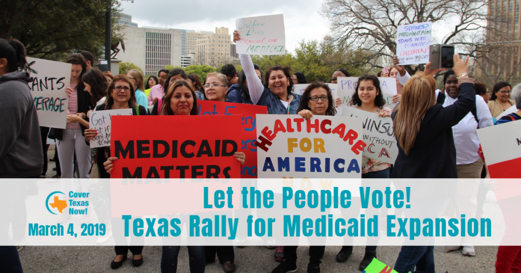 Texas Rally for Medicaid Expansion on March 4 at the Texas State Capitol