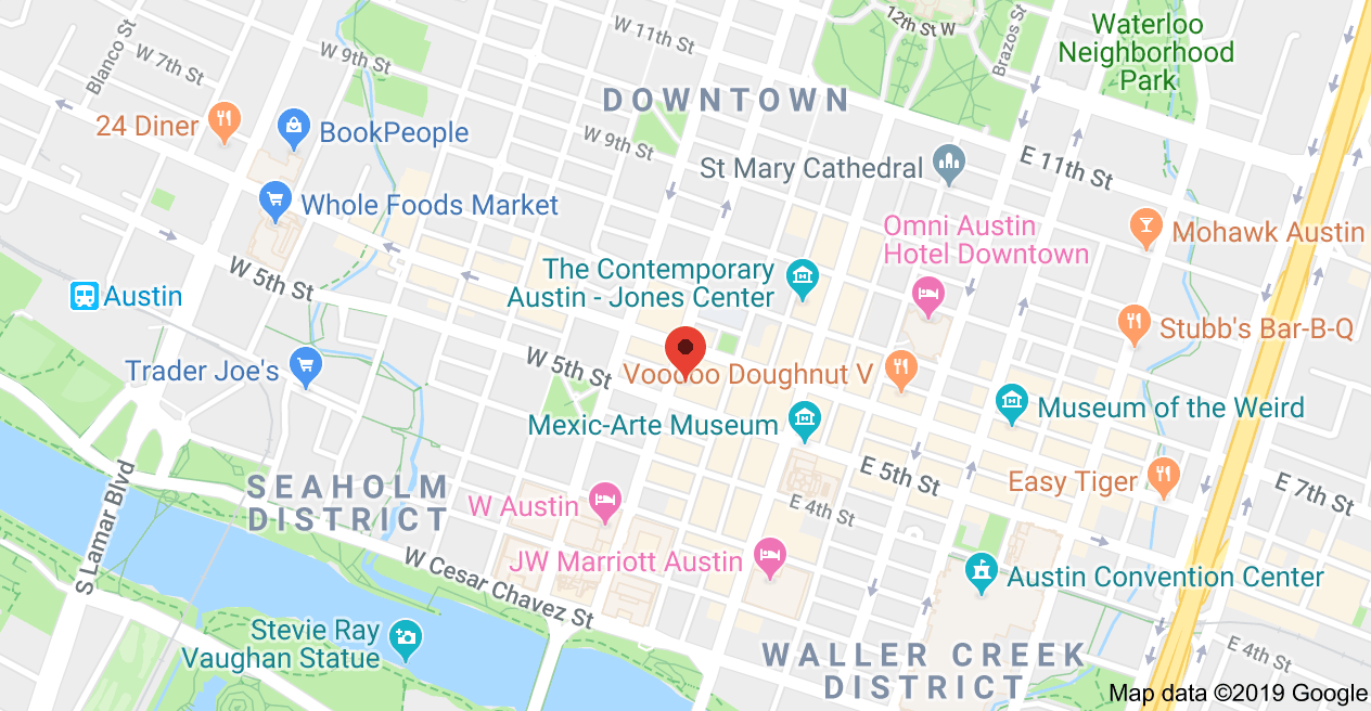 John Cornyn Austin Office Map