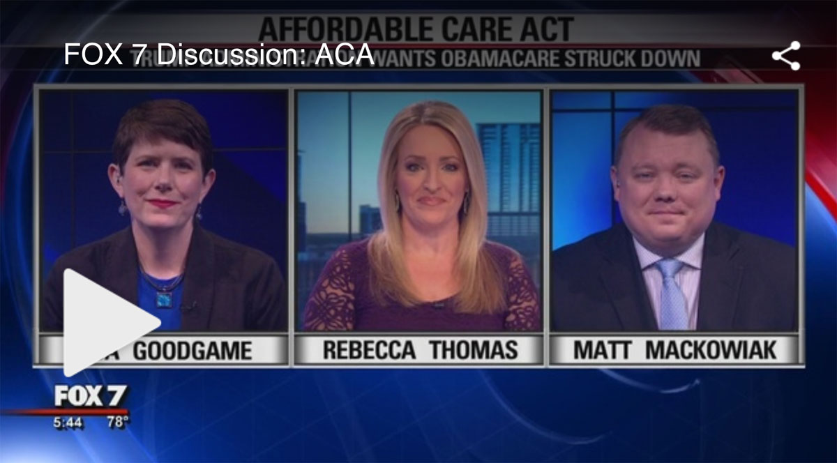 FOX 7 Discussion: Affordable Care Act