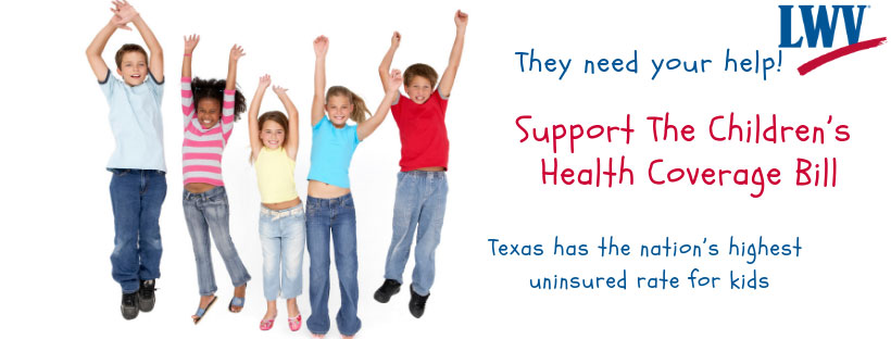 Support the #txlege children's health coverage bill; Guess who's not running against Cornyn; Run Wendy Run | Take Action Newsletter