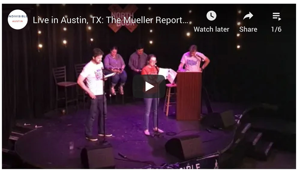 Mueller Report Live at North Door Austin