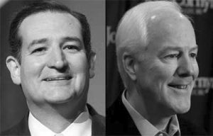 Ted Cruz and John Cornyn