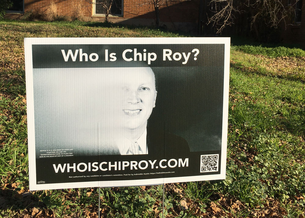 who is chip roy?