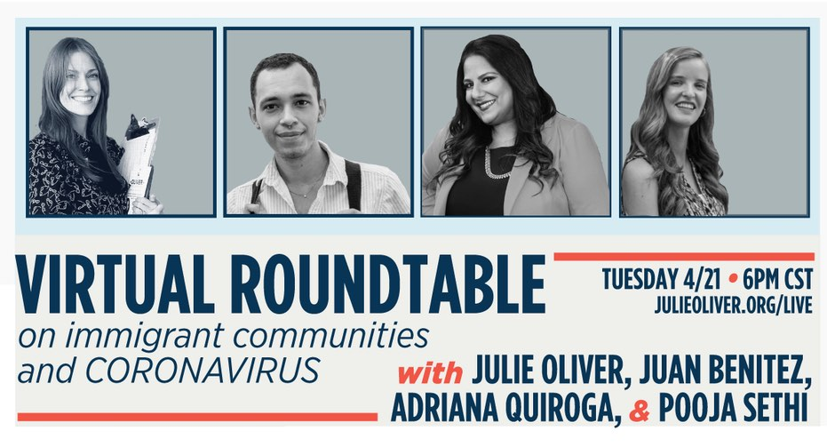 Immigration roundtable with Julie Oliver
