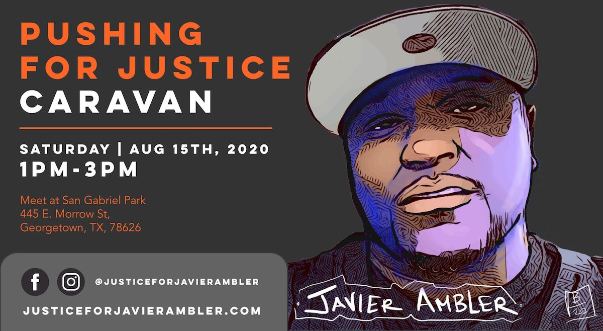 Pushing for Justice Caravan - Javier Ambler