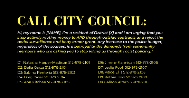 Call City Council